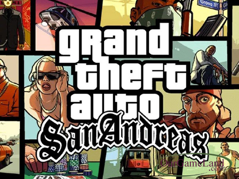 Grand Theft Auto - San Andreas PC Game Full Version