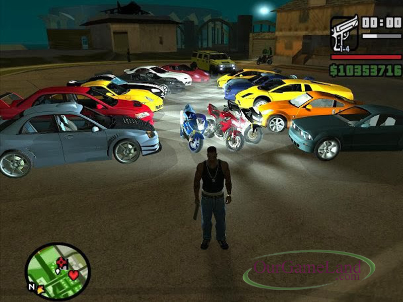 Grand Theft Auto - San Andreas PC Game full version Download