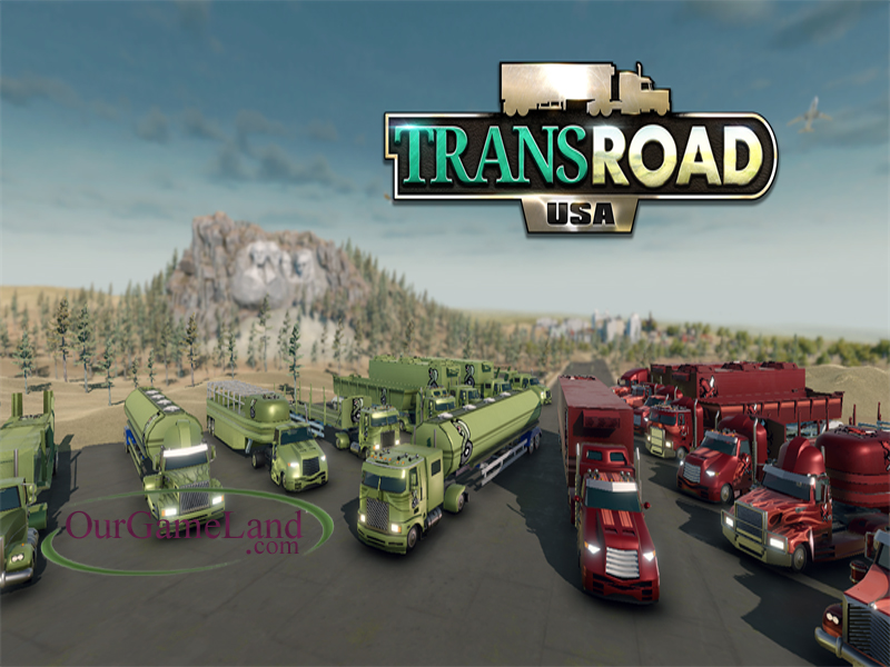 Trans Road USA PC Game Full Version Highly Compressed Download