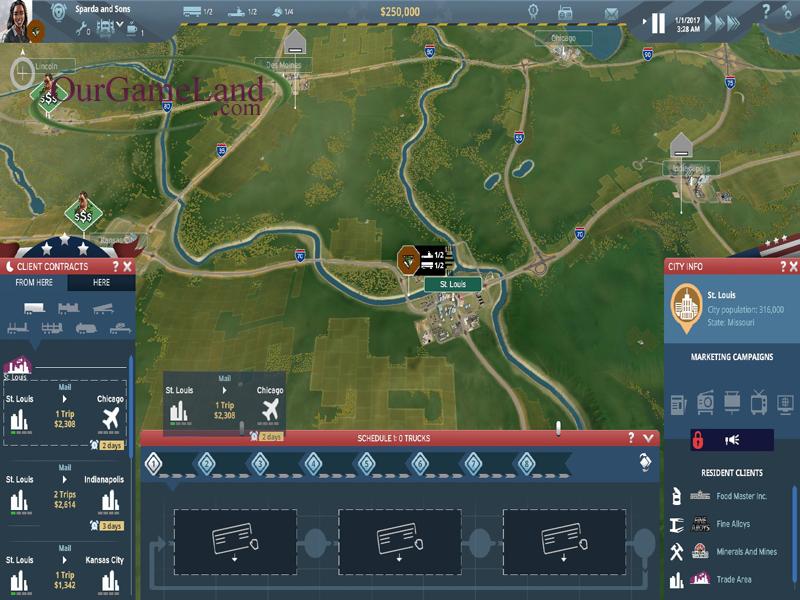 Trans Road USA PC Game Full Version