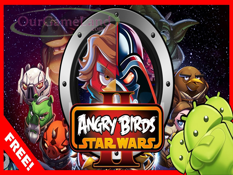 Angry Birds Star War PC Game Full Version Highly Compressed Download