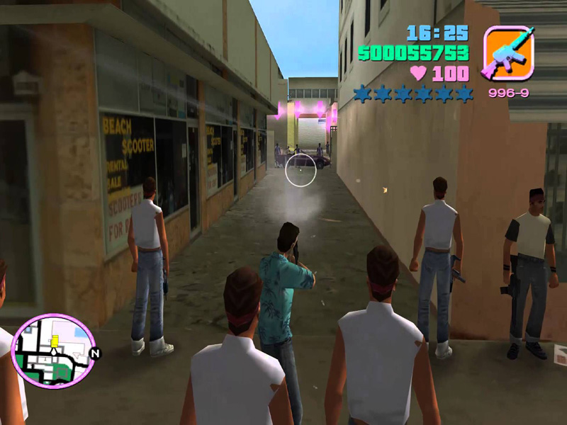 Grand Theft Auto Vice City Vercetti Gang Mod PC Game Full Version Highly Compressed Download