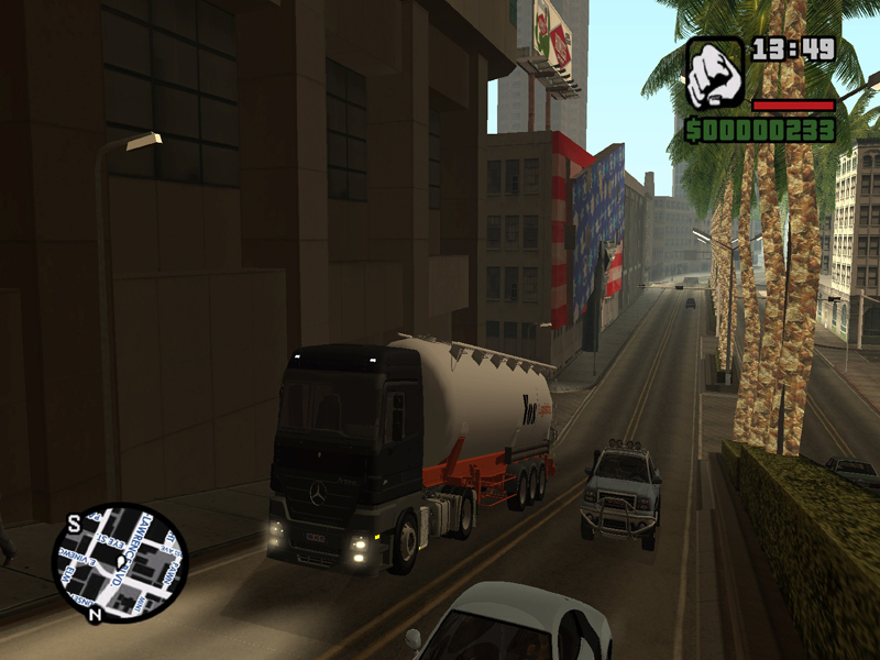 GTA San Andreas Real Cars 2 free pc game full