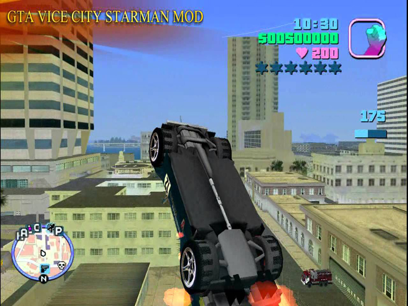 GTA Vice City Starman Mod free pc game full